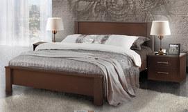 מיטת עץ זוגית