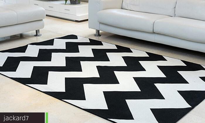 12 שטיח כותנה לסלון - משלוח חינם!