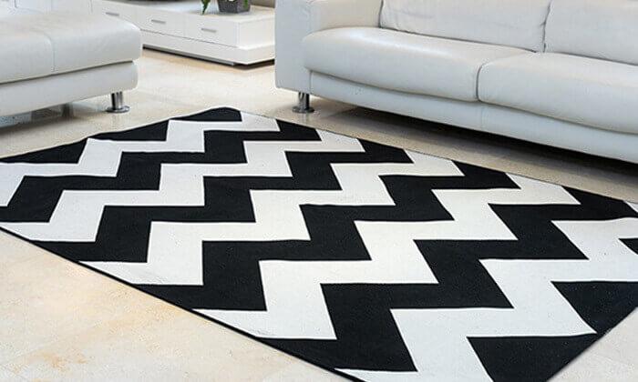 2 שטיח כותנה לסלון - משלוח חינם!