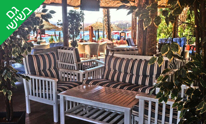 3 ארוחת בוקר זוגית במסעדת חוף ממן, אילת