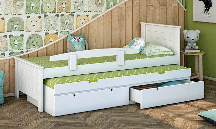 5 שמרת הזורע: מיטת ילדים דגם ספינר