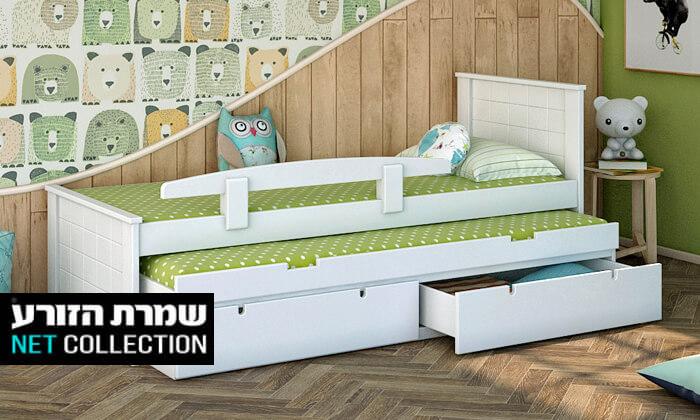 2 שמרת הזורע: מיטת ילדים דגם ספינר