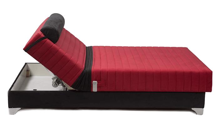 2 מיטה חשמלית אורתופדית
