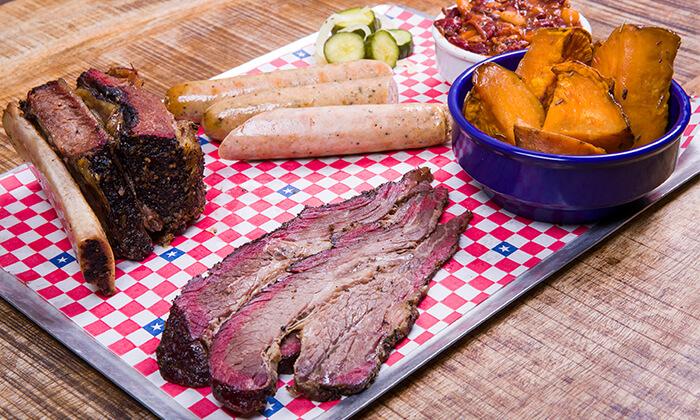 2 ארוחת אכול כפי יכולתך ב-Texas BBQ, רמת החייל תל אביב