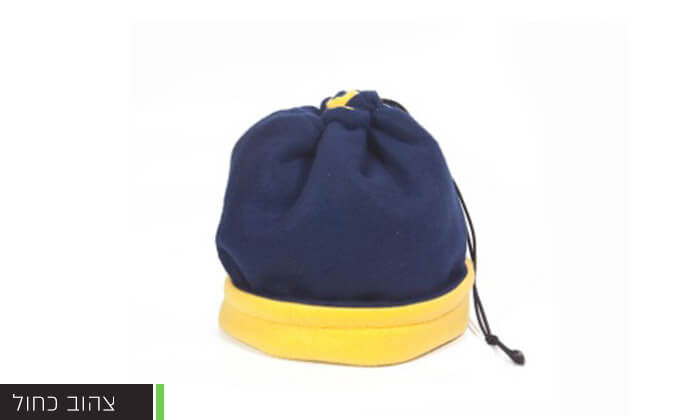 מדהים חם צוואר דו-צדדי מפליז שהופך לכובע במשיכת חוט | גרו (גרופון) UN-74
