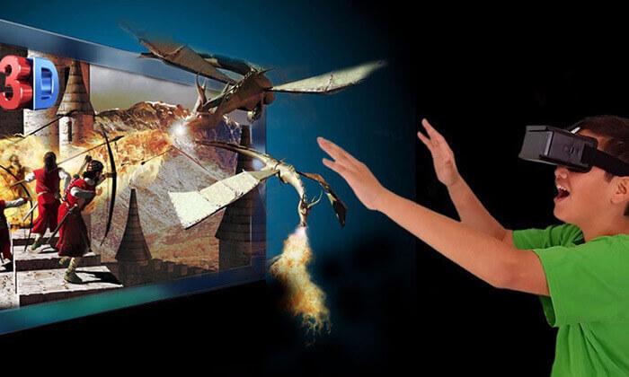 4 ערכת מציאות מדומה לסמארטפון