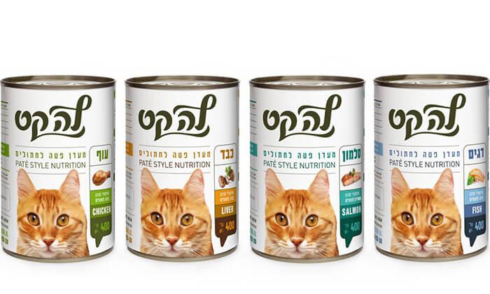 2 שימורי מזון'לה קט לחתול