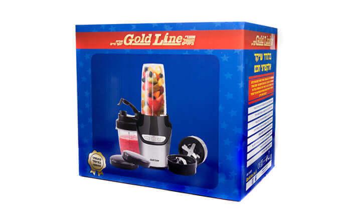 4 בלנדר שייקר Gold Line - משלוח חינם!