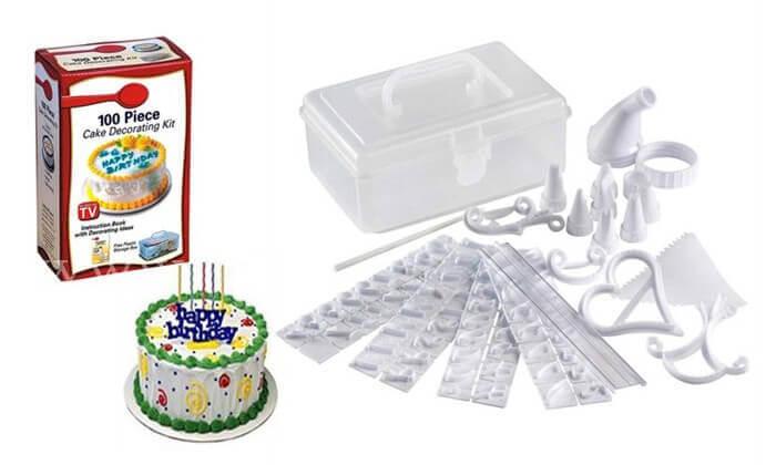 2 ערכה לקישוט העוגה - משלוח חינם!