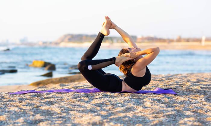 4 שיעור יוגה פרטי עם טל ארונס, תל אביב