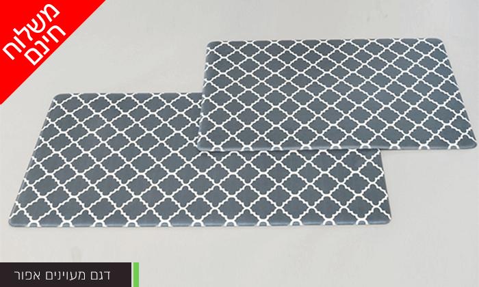 9 זוג שטיחוני PVC מעוצבים - משלוח חינם!