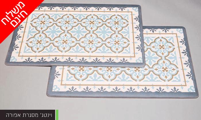 10 זוג שטיחוני PVC מעוצבים - משלוח חינם!
