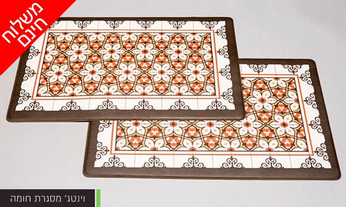 11 זוג שטיחוני PVC מעוצבים - משלוח חינם!
