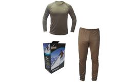 חולצה ומכנסיים תרמיים OUTDOOR