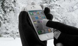כפפות טאץ' לחורף חם