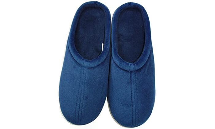 2 זוג נעלי בית מחממות עשויות ויסקו