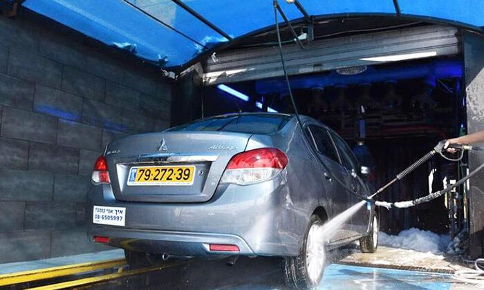תוספת שטיפת רכב חיצונית ופנימית בשדרות רוקח | גרו (גרופון) EJ-84