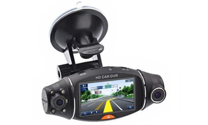 מצלמת דרך דו-כיוונית עם GPS