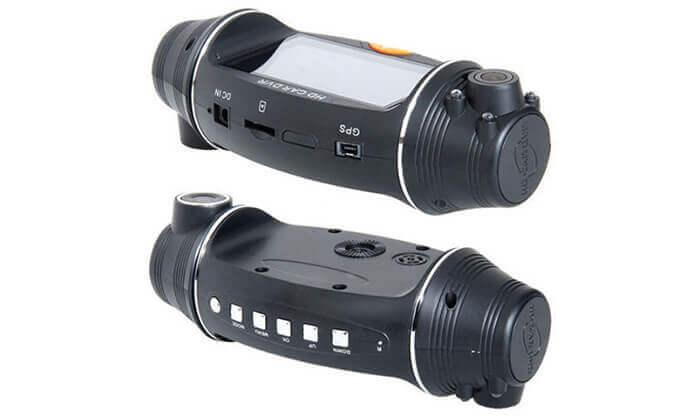 3 מצלמת דרך דו-כיוונית עם GPS