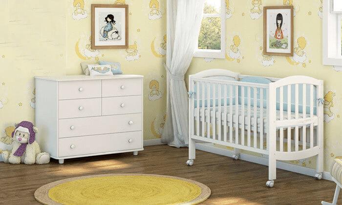 8 ריהוט לחדר תינוקות 'משכל' - דגם קרמבו