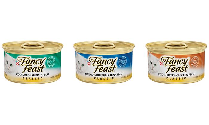 2 96 יחידות אוכל לחתולים פנסי פיסט