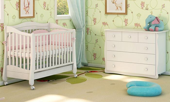 10 ריהוט לחדר תינוקות 'משכל' - דגם קצפת