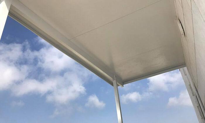 2 ברזנט שמשונית להגנה מפני הגשם והשמש