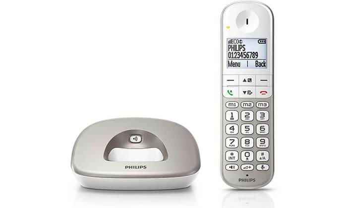 2 טלפון אלחוטי Philips מותאם לכבדי שמיעה