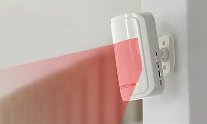 6 מערכת אזעקה אלחוטית WIFI הכולל גיבוי SIM-Card