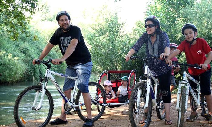 4 טיול אופניים בלהבות הבשן בגליל העליון