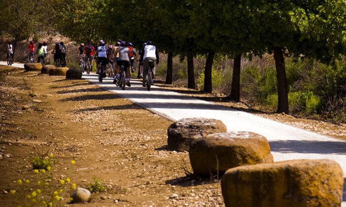 5 טיול אופניים בלהבות הבשן בגליל העליון