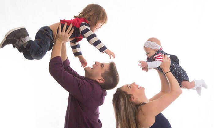 4 סשן צילומים משפחתי אצל הצלם ניר קידר, פתח תקווה