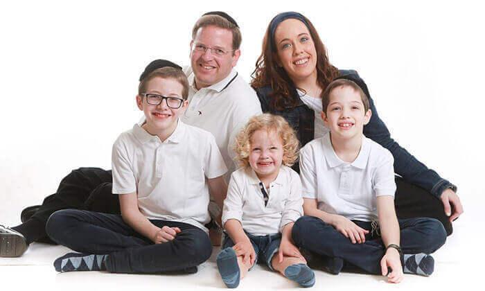 7 סשן צילומים משפחתי אצל הצלם ניר קידר, פתח תקווה