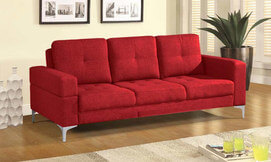 ספה תלת מושבית הנפתחת למיטה