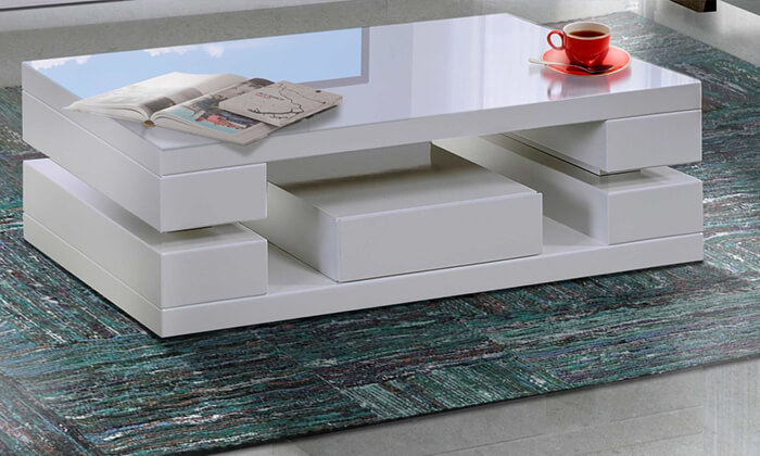 3 מערכת מזנון ושולחן לסלון LEONARDO