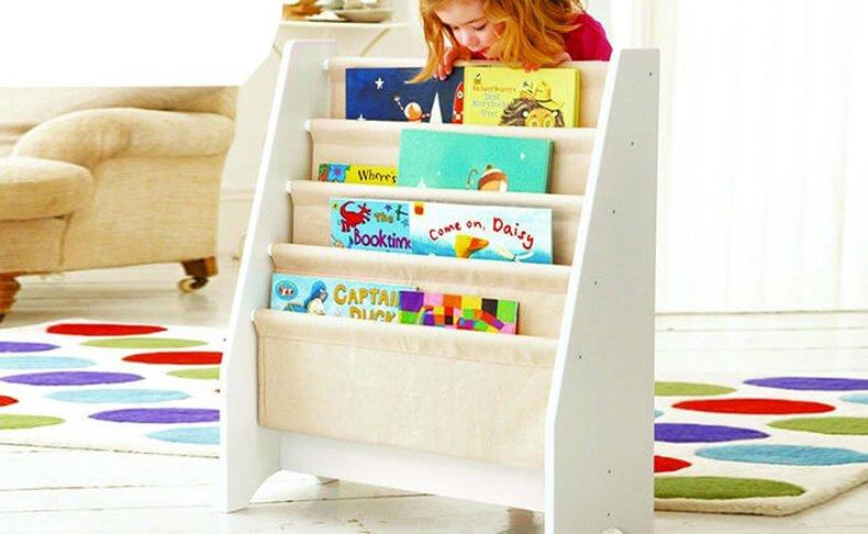 ארגונית ספרים לחדר הילדים