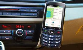 סמארטפון קבוע לרכב