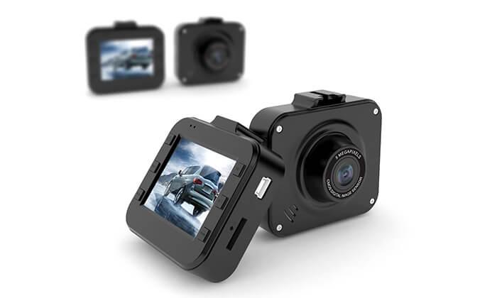 4 מצלמת וידאו לרכב וחיישני רוורס כולל התקנה