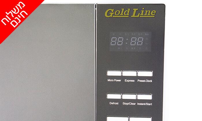 4 מיקרוגל דיגיטלי 25 ליטר GOLD LINE - משלוח חינם!