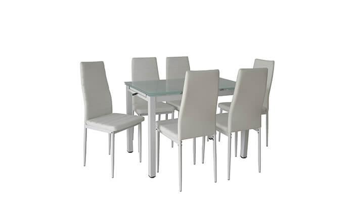 אדיר פינת אוכל עם 6 כסאות | גרו (גרופון) FN-68