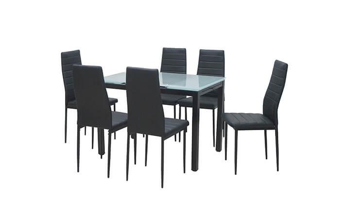צעיר פינת אוכל עם 6 כסאות | גרו (גרופון) MB-08