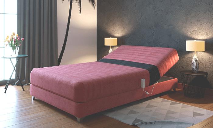 3 מיטה חשמלית אורטופדית ברוחב וחצי