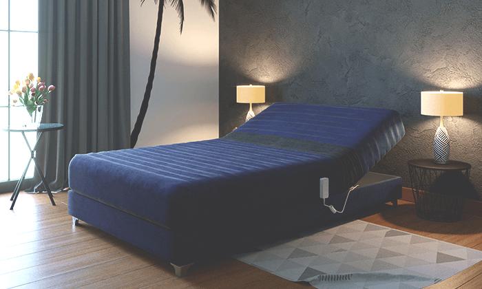4 מיטה חשמלית אורטופדית ברוחב וחצי