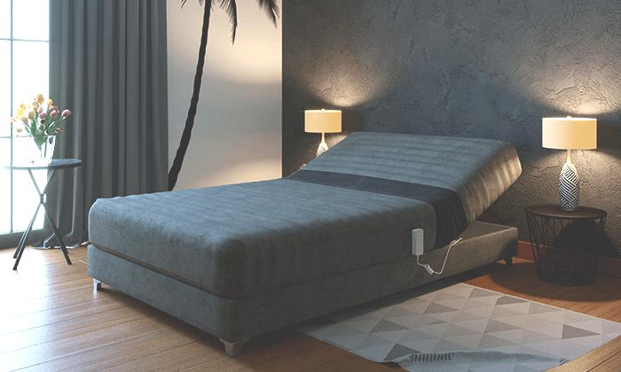 5 מיטה חשמלית אורטופדית ברוחב וחצי