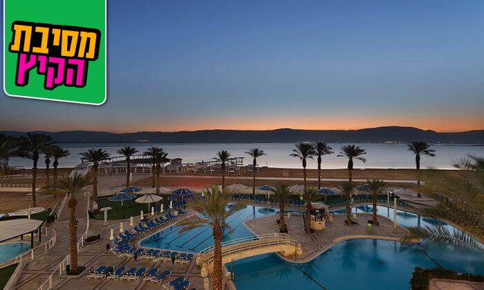 2 יום כיף במלון קראון פלזה, ים המלח