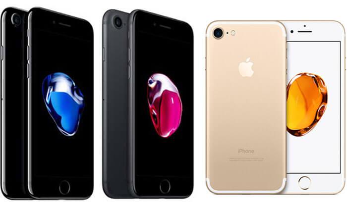 3 סמארטפון נפח iphone 7 128GB