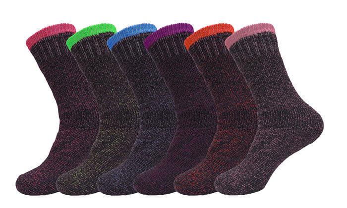 2 מארז זוגות גרביים תרמיים HomeTown