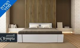 מיטה זוגית ומזרן תואם