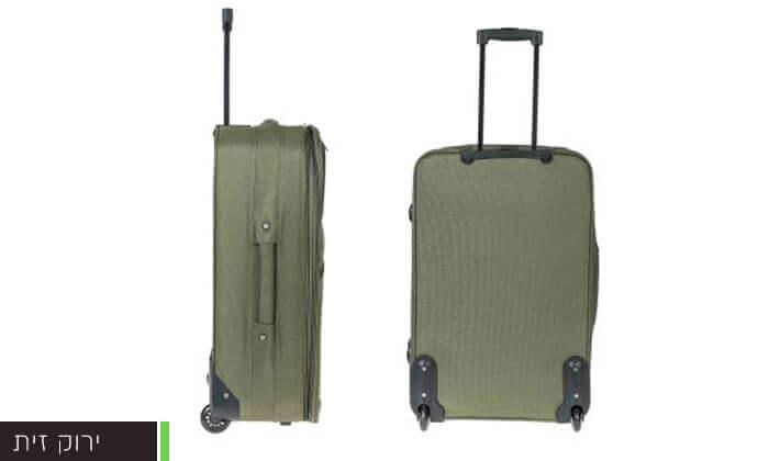 3 סט מזוודות בגדלים שונים
