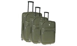 סט מזוודות בגדלים שונים